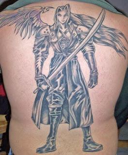 Tatuagens nas Costas masculina