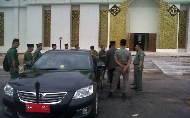 Sebelum MTQ Provinsi Jambi di Tebo, Sukandar Pastikan Kelengkapan Masjid Agung Sudah Siap