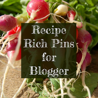 Recipe Rich Pins for Blogger