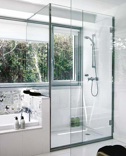 Dise o de ba os con ducha ba os y muebles for Banos bonitos con ducha