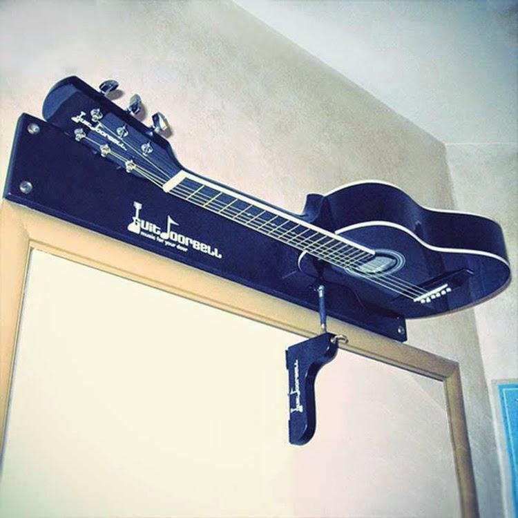 Diseños ingeniosos que podrían hacerte la vida más fácil, guitarra