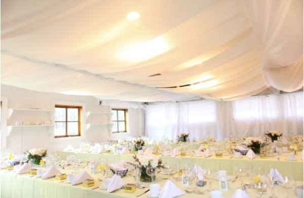 Power to personalize your wedding decor idea ceiling draping love this idea or need help with more ideas for your wedding junglespirit Choice Image