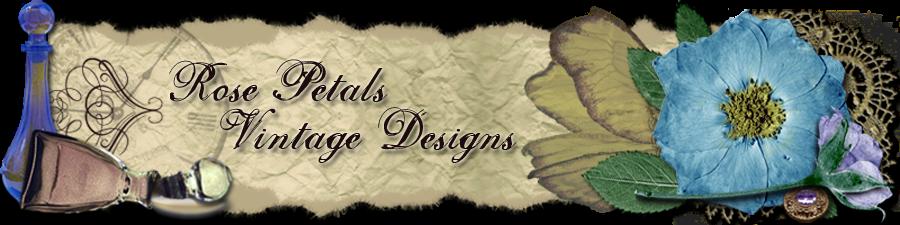 Rose Petals Vintage Designs