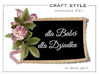wyzwanie Craft Style - 22.01