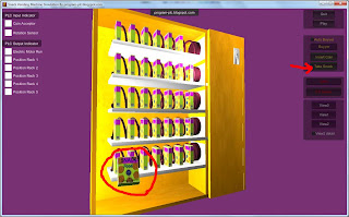 Take Snack in Snack Vending Machine Simulation