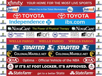 NBA 2K13 Dornas / Sideline Sponsors Patch