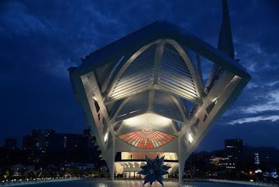 Το Μουσείο του Αύριο μόλις άνοιξε στο Ρίο ντε Τζανέιρο