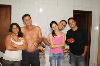 Minha grande família: Mãe, Pai, Irmão André Luíz, Cunhada Dorca e Maridão