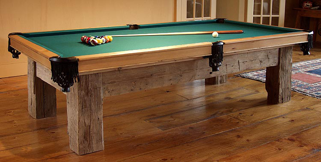 Dorset Custom Furniture A Woodworkers Photo Journal A Post And - How do you take apart a pool table