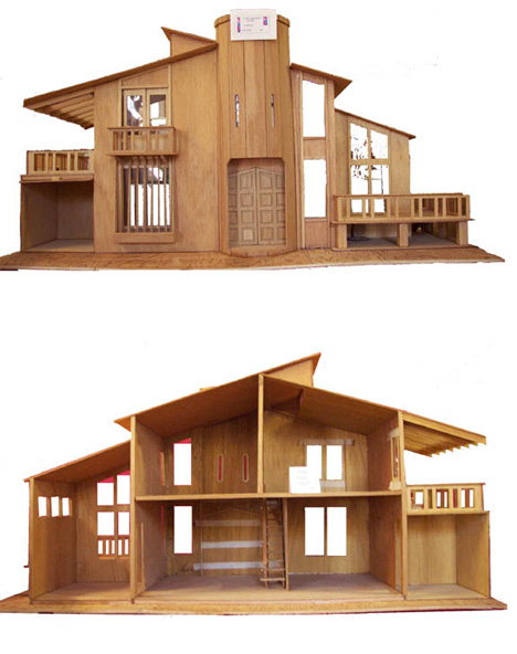 My mini sofa blogspot my barbie project house is still for Ultra modern house plans for sale