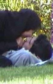 بوسه های دختر و پسر ایرانی