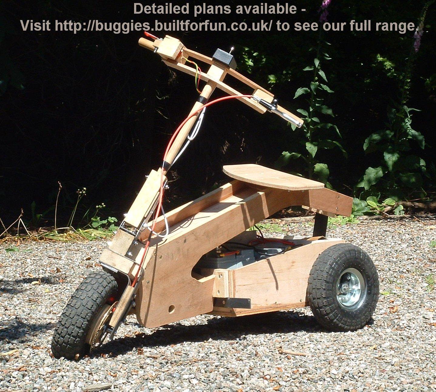 Tilting Vehicles Blog Diy Tilting Scooter