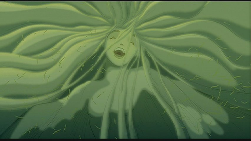 Forest Spirit The Firebird sequence Fantasia 2000 1999 animatedfilmreviews.blogspot.com