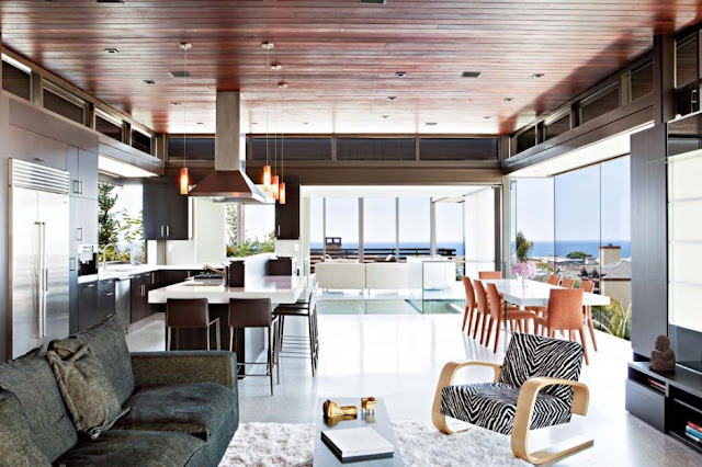 Interior architecture of the Modern Contemporary Ettley House
