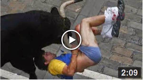 Three gored at Pamplona bull fighting festival