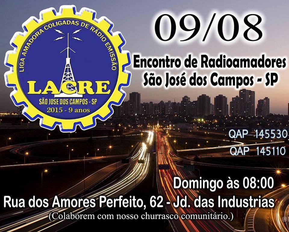 ENCONTRO DE RADIOAMADORES EM SÃO JOSE DOS CAMPOS -SP