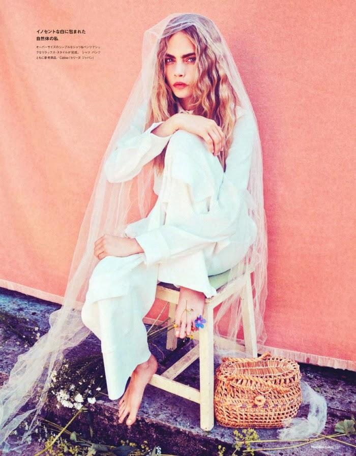 Cara Delevingne Photoshot For by Sofia Sanchez, Mauro Mongiello for Numero Magazine Tokyo