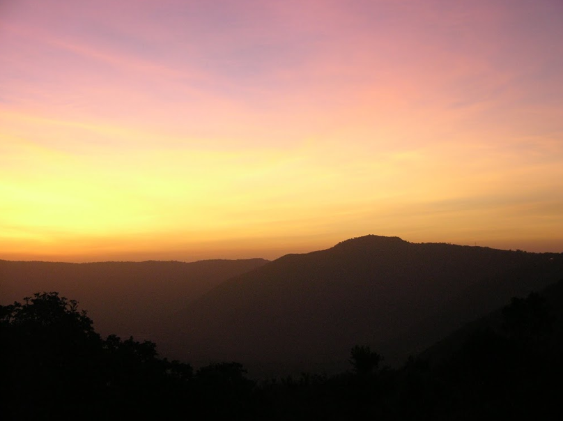 Sunset in tansania