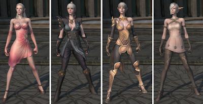 Female MMORPG characters