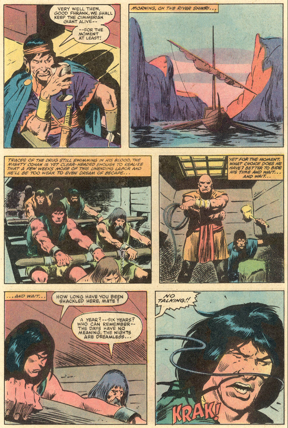 Conan the Barbarian (1970) Issue #140 #152 - English 12