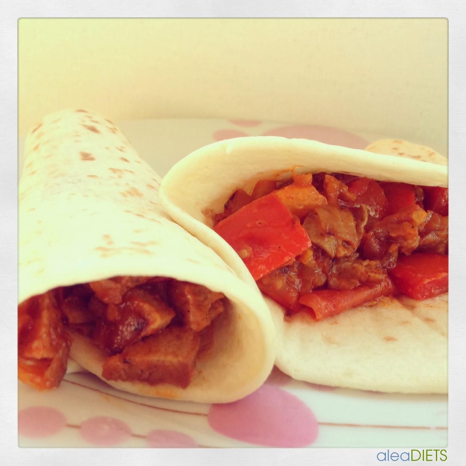 Burritos mejicanos  Recetas ricas de dieta de aleaDIETS