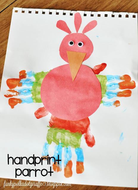 handprint-parrot