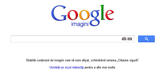 Google permite cautarea dupa imagini