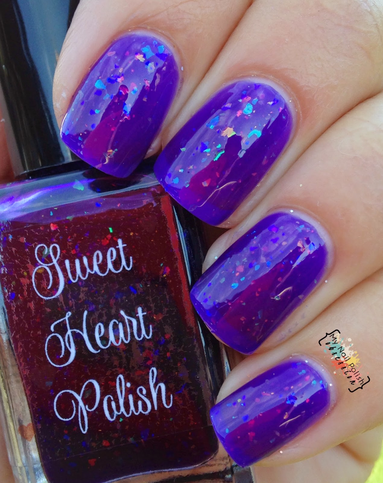 Sweet Heart Polish Rainbow Deconstructed