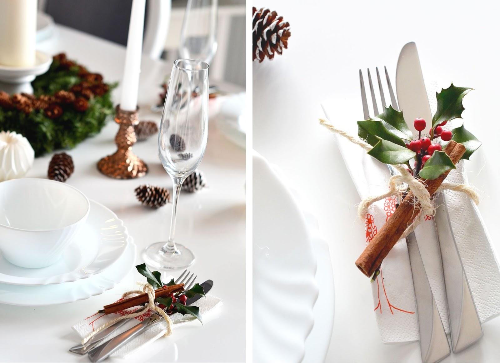 pomysly na tanie przystrojnie stolu | blog moda | uroda | wnetrza | cammy blog