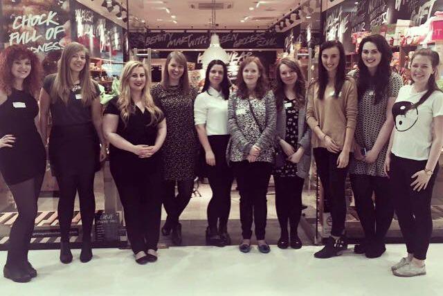 Lush Braehead Bloggers Event