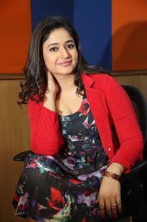 Mamta Mohandas in short dress at Radiocity promoting Kalavathi