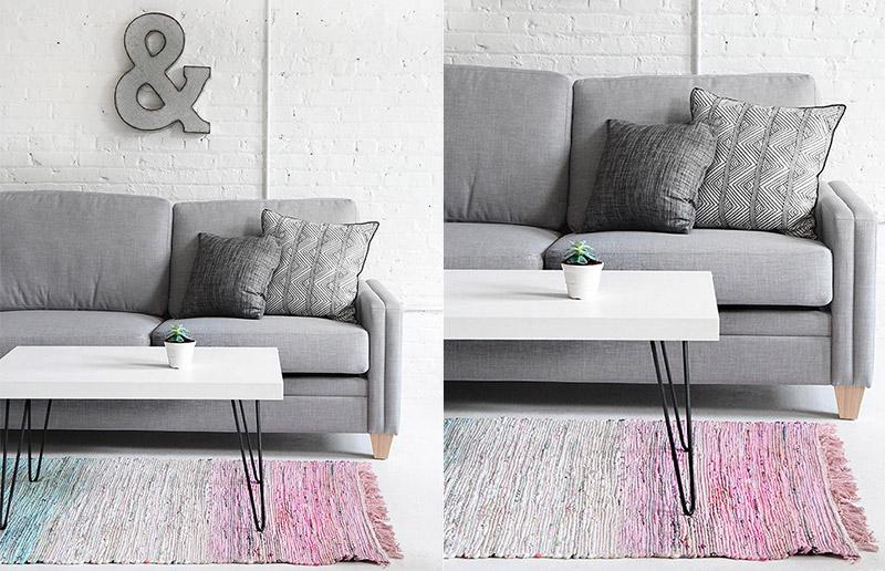 Customização de tapete, com um resultado lindo! 2 projetos DIY para você!