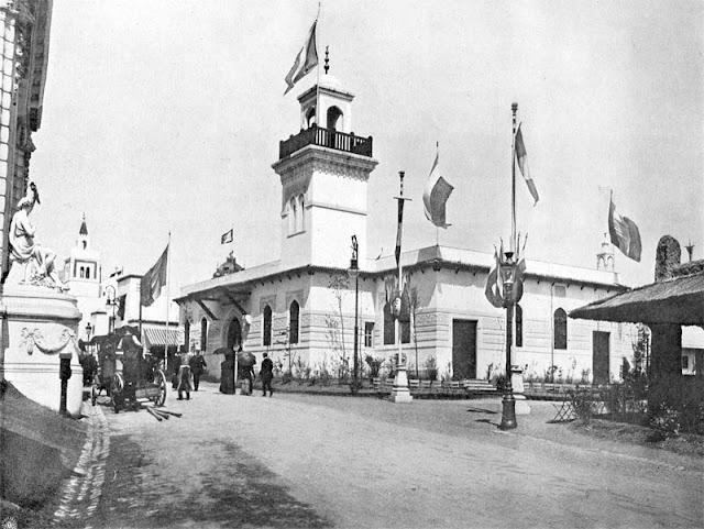 Expo 1910 Brussels - Algerian pavilion