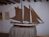 Oyster Schooner model