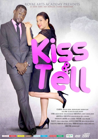 Kiss & Tell Nigerian movie, Kiss and Tell Nollywood movie, Desmond Elliot, Nse Ikpe Etim, Monalisa Chinda, Joseph Benjamin