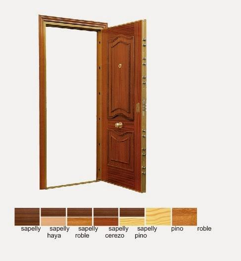 Foto puerta blindada y acorazada