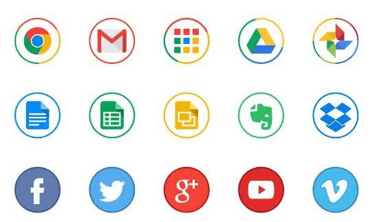 Free Circle Icons (AI)