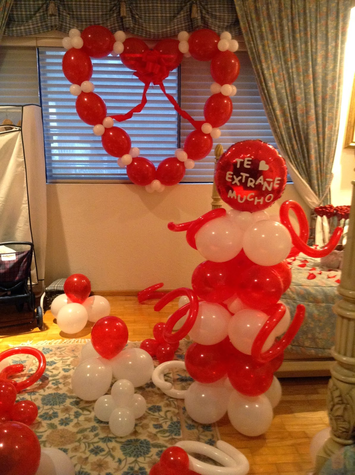 Decoraci n cuarto para cumplea os mi novio imagui for Ideas para decorar habitacion sorpresa