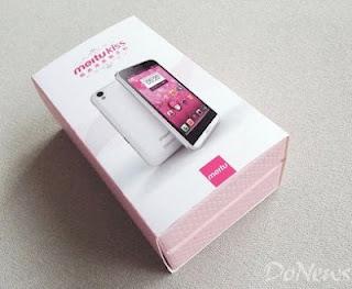 MeituKiss HD, Smartphone Android dengan Kamera 8 MP