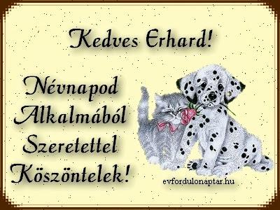 Április 9 - Erhard