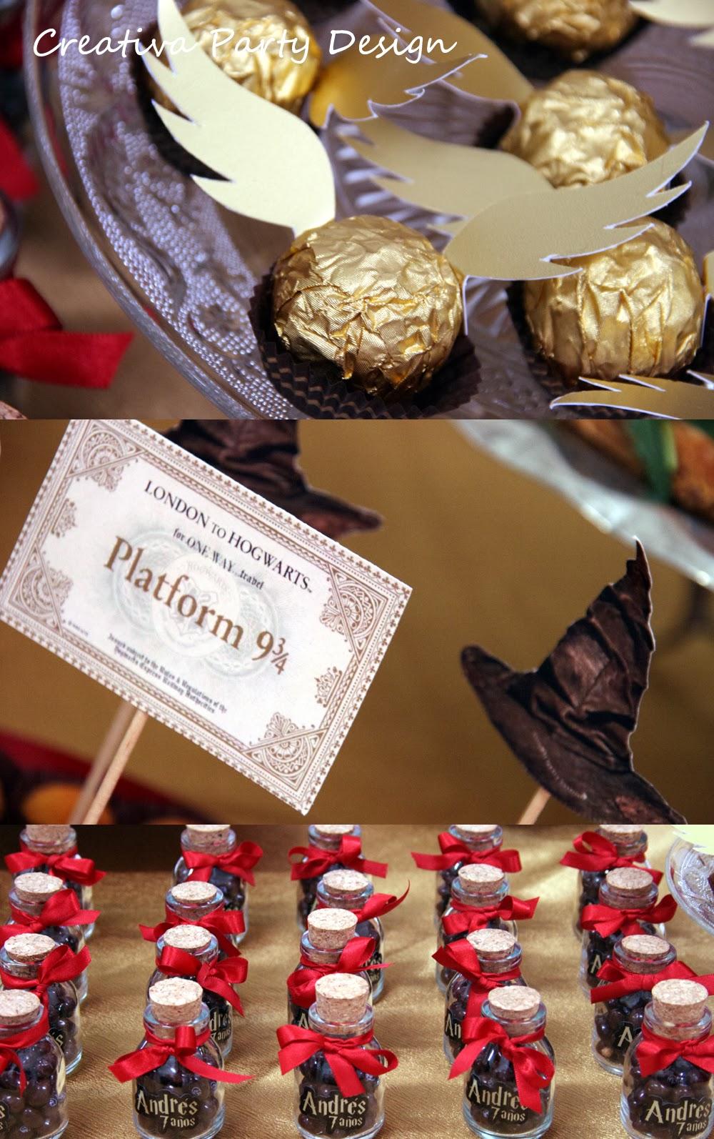 Creativapartydesign fiesta harry potter - Objetos de decoracion originales ...