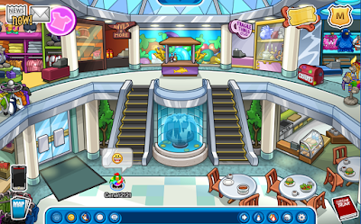 Club Penguin Puffle Berry Mall
