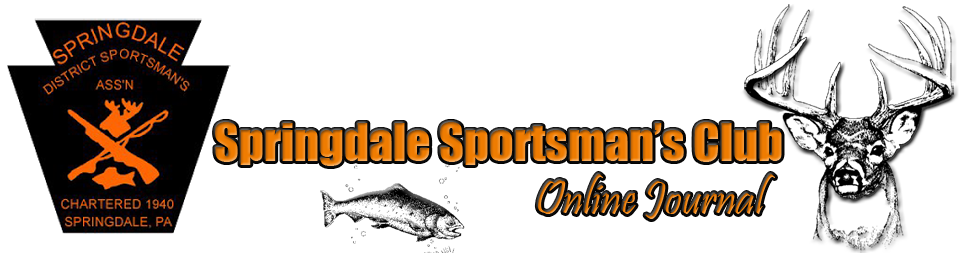 Springdale Sportsman&#39;s Club Journal
