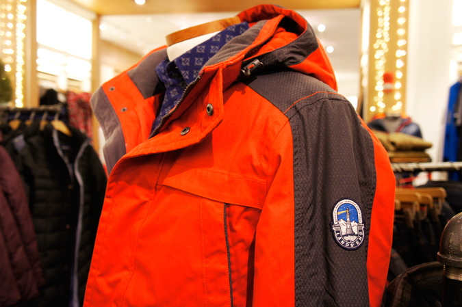 Lands' End coats