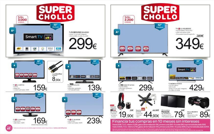 Carrefour catalogo televisores carrefour ofertas 2017 - Hogarium catalogo de ofertas ...