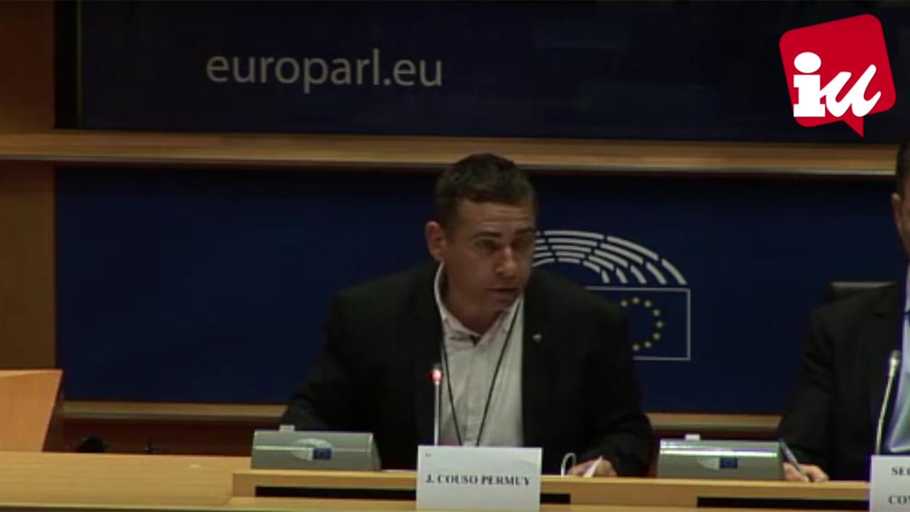 """Couso: """"La UE debería apoyar el diálogo en Venezuela que promueven UNASUR y El Vaticano"""""""