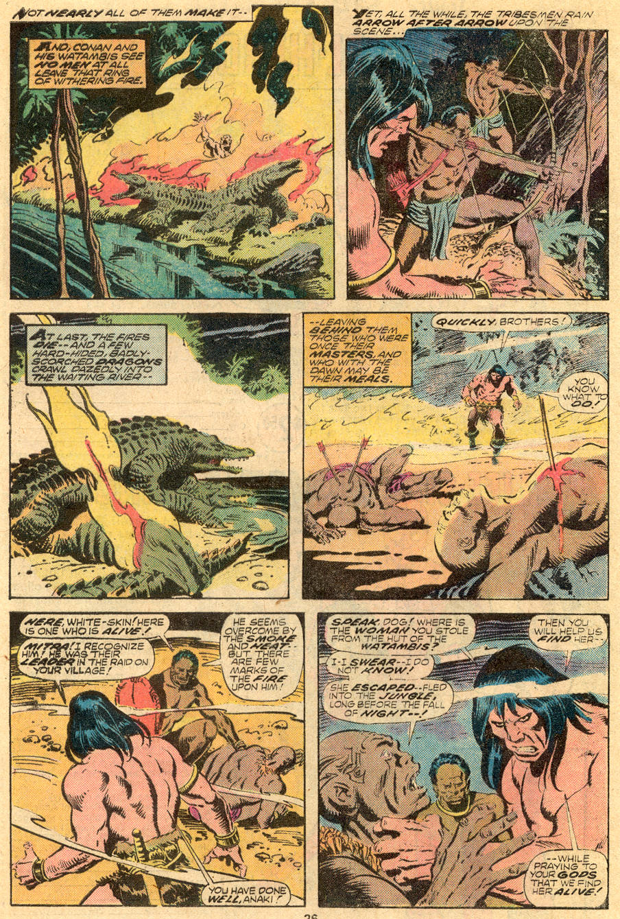 Conan the Barbarian (1970) Issue #61 #73 - English 14