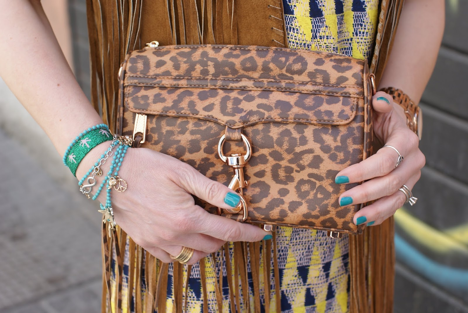 Rebecca Minkoff mini MAC leopard clutch, Fashion and Cookies fashion blog, fashion blogger style