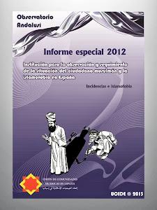 INFORME ESPECIAL DE 2012 DEL OBSERVATORIO ANDALUSÍ