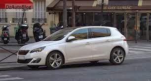صورة سيارة بيجو 308 الحديثة بالجزائر peugeot 308 pictures